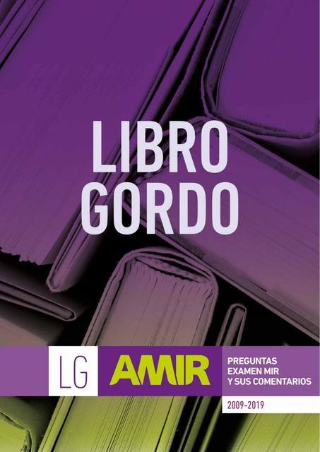 Libro Gordo Amir Preguntas Mir 2009 2019 Comentadas 10 10 Medicina Humana Apuntes De Medicina Udocz